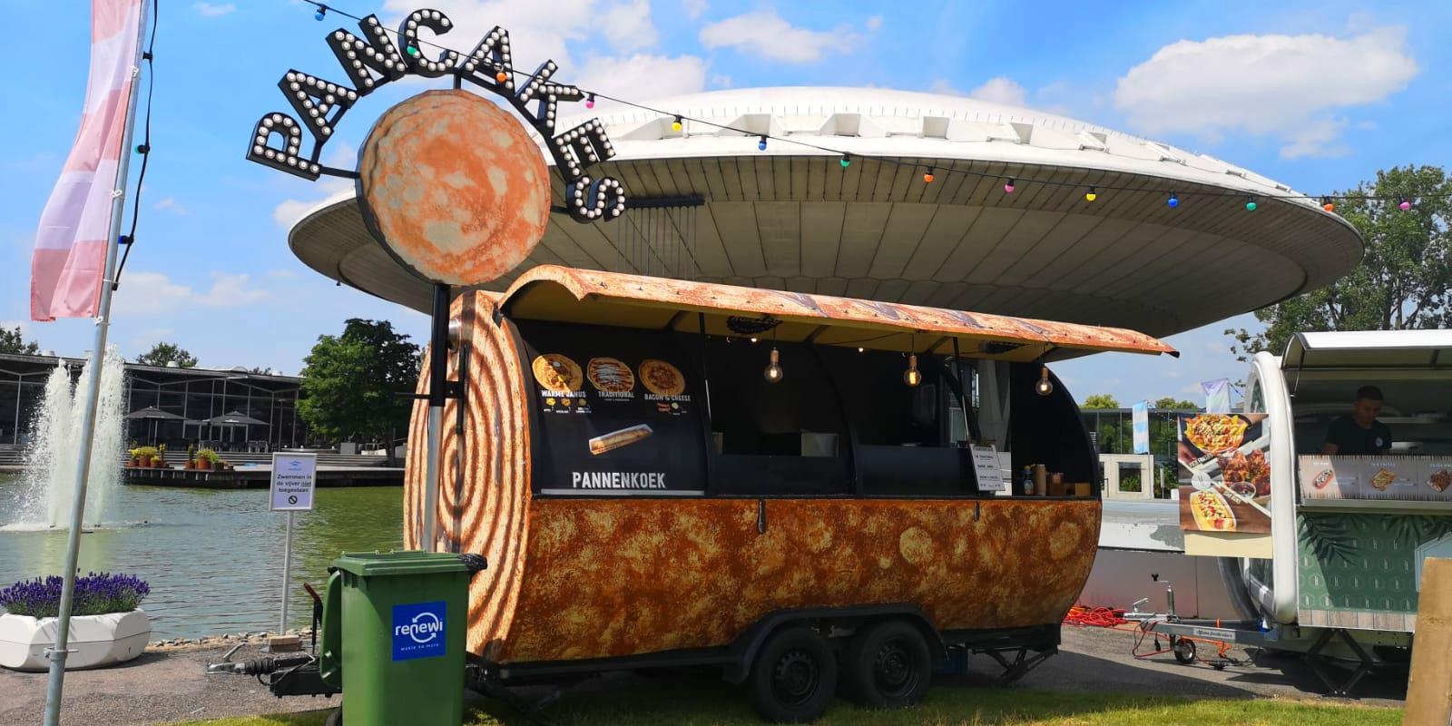 Pannenkoek Foodtruck catering op locatie